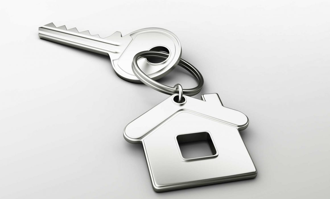 Home buyers new keys